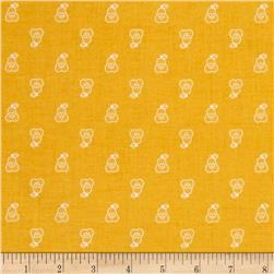 Riley Blake Bee Basics Pear Honey