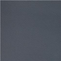 Textile Creations Leather Backed Vinyl Battle Blue Fabric