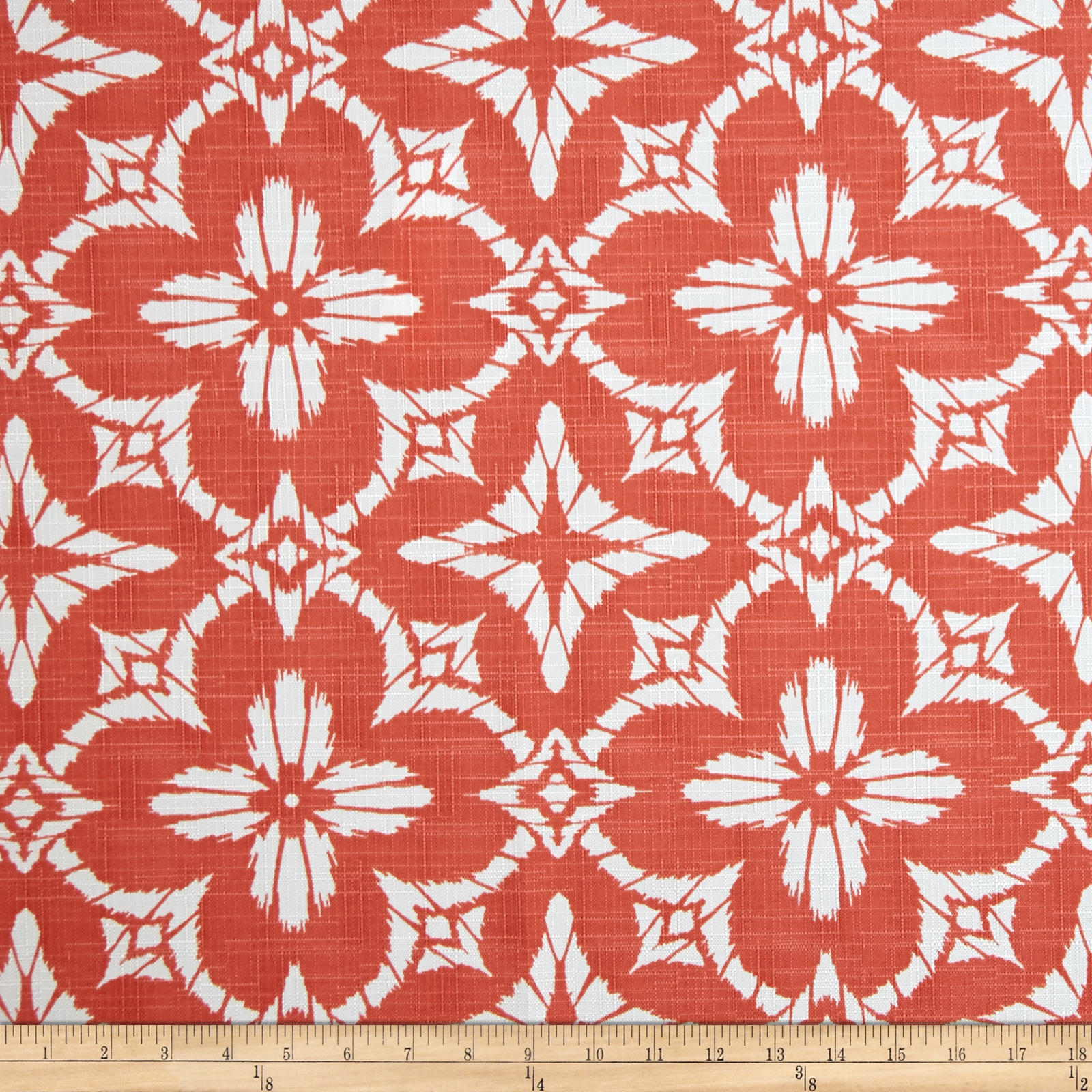 Richloom Indoor/Outdoor Aspidoras Coral Fabric By The Yard by Richloom in USA