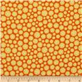 Adventure Land Flannel Stars Orange