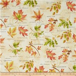 Fall Festival Large Allover Ivory