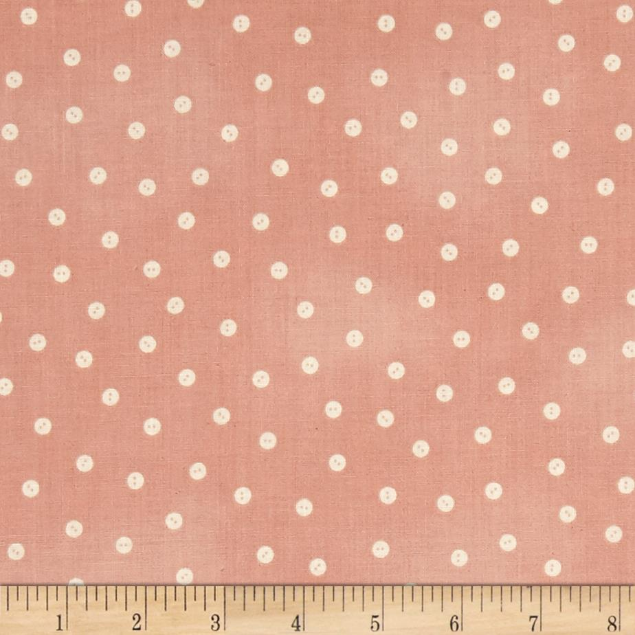 Tidings of great joy baby buttons pink discount designer for Cheap baby fabric