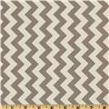 Riley Blake Chevron Small Grey
