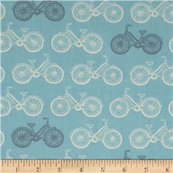 Moda Little Things Organic Cycle Time Aqua
