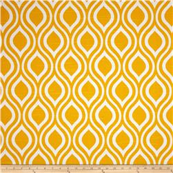 Premier Prints Nicole Slub Corn Yellow Fabric