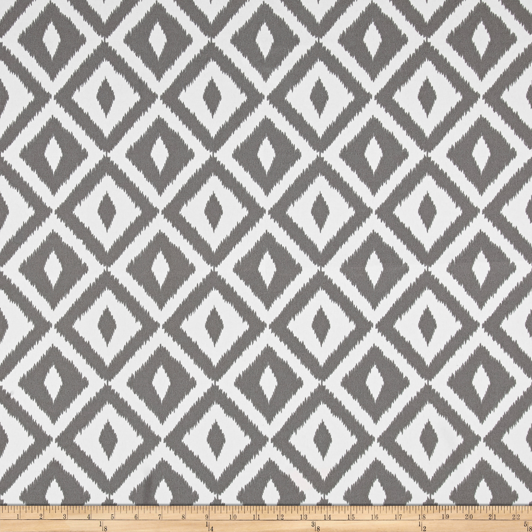 Terrasol Outdoor Aztec Charcoal Fabric by Tempro in USA