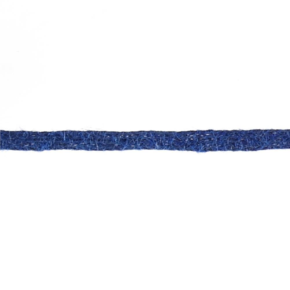 "May Arts 1/2"" Burlap Ribbon Spool Navy"