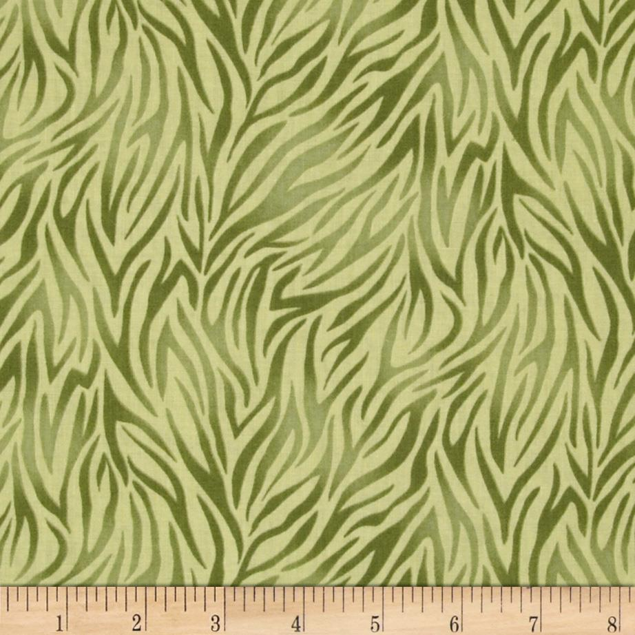 Monterey Animal Print Olive Green