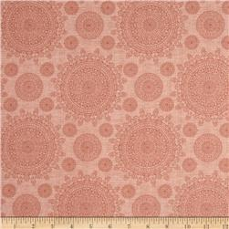 Thimble Pleasures Lace Medallions Coral Pink