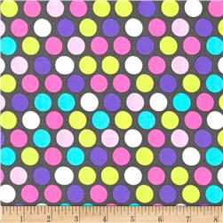 Michael Miller Diddly Dot Orchid Fabric