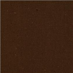 Designer Essentials Linen/Cotton Solid Brown