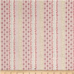 Petit Coeur Ornate Stripe Pink