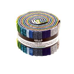 "Valori Wells Blueprint Basics Winter Colorstory 2.5""  Half Roll"