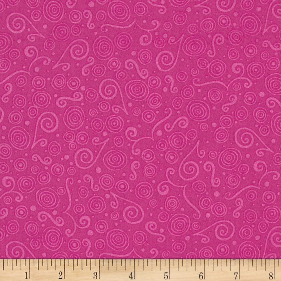 Lily Scroll Pink