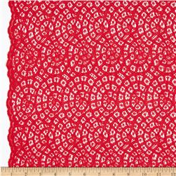 Mara Lace Red