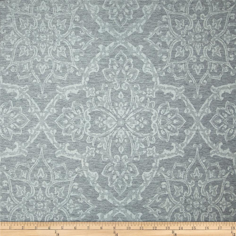 Eroica waltz damask jacquard silver discount designer for Jacquard fabric