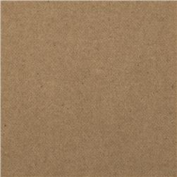 Wool Blend Melton Tan