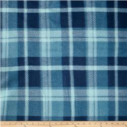 Printed Fleece Plaid Blue/Navy