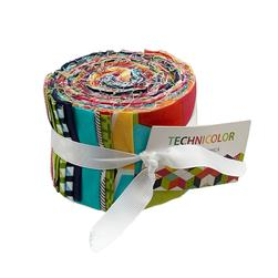 Michael Miller Technicolor 2 1/2'' Jelly Roll