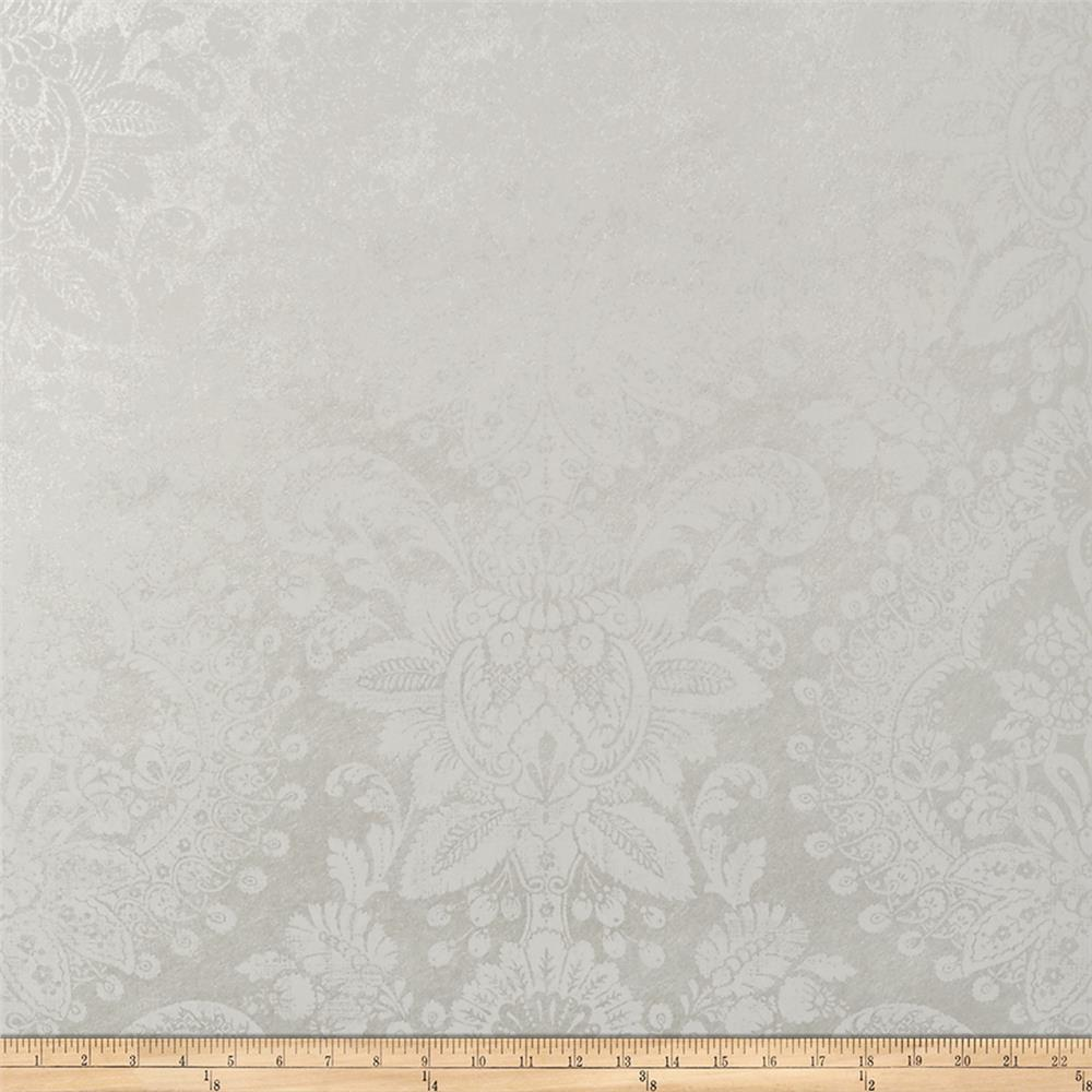Fabricut 50055w Celestino Wallpaper Pearl 01 (Double Roll)