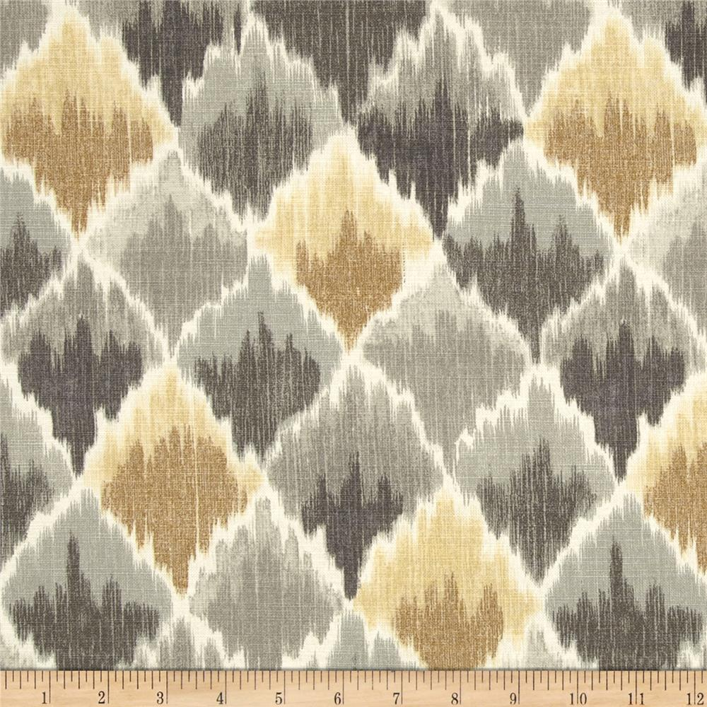 Waverly Baroque Bargello Slub Shale