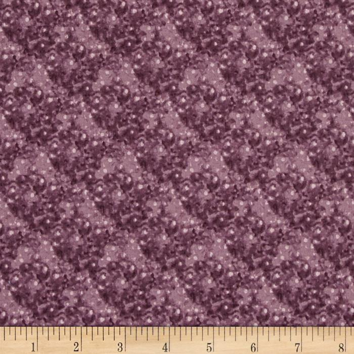 Quilting Treasures Native Pine Dot Purple