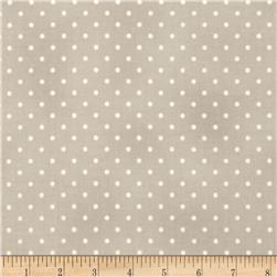 Home Essentials Dots Gray/White