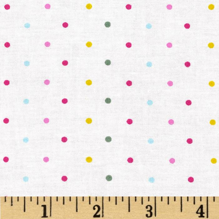 Child's Play Dots Multi/White