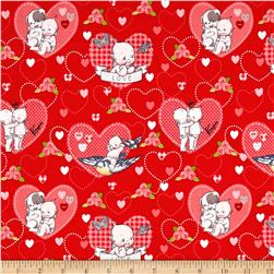 Riley Blake Kewpie Love Main Red