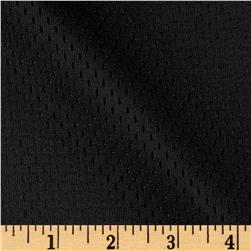 8.5 oz Athletic Stretch Mesh Black