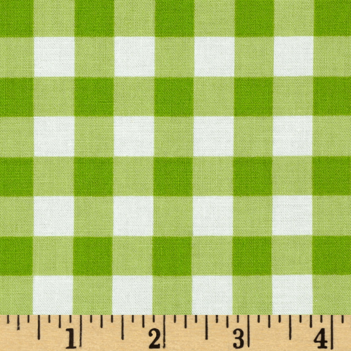 Sweet Lady Jane Garden Gingham Green