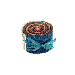 Moda Jelly Bean Batiks 2 1/2''  Jelly Roll