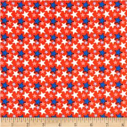 Stars And Stripes Stars Red