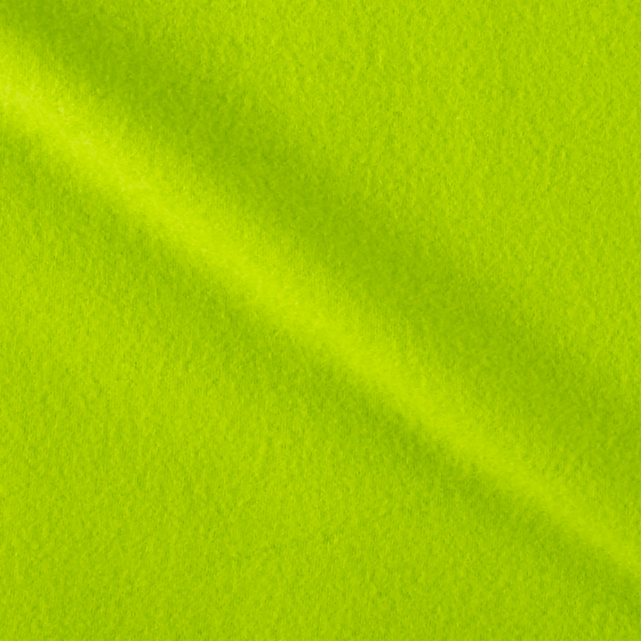 Solid Fleece Sweet Lime Fabric by Textile Creations in USA