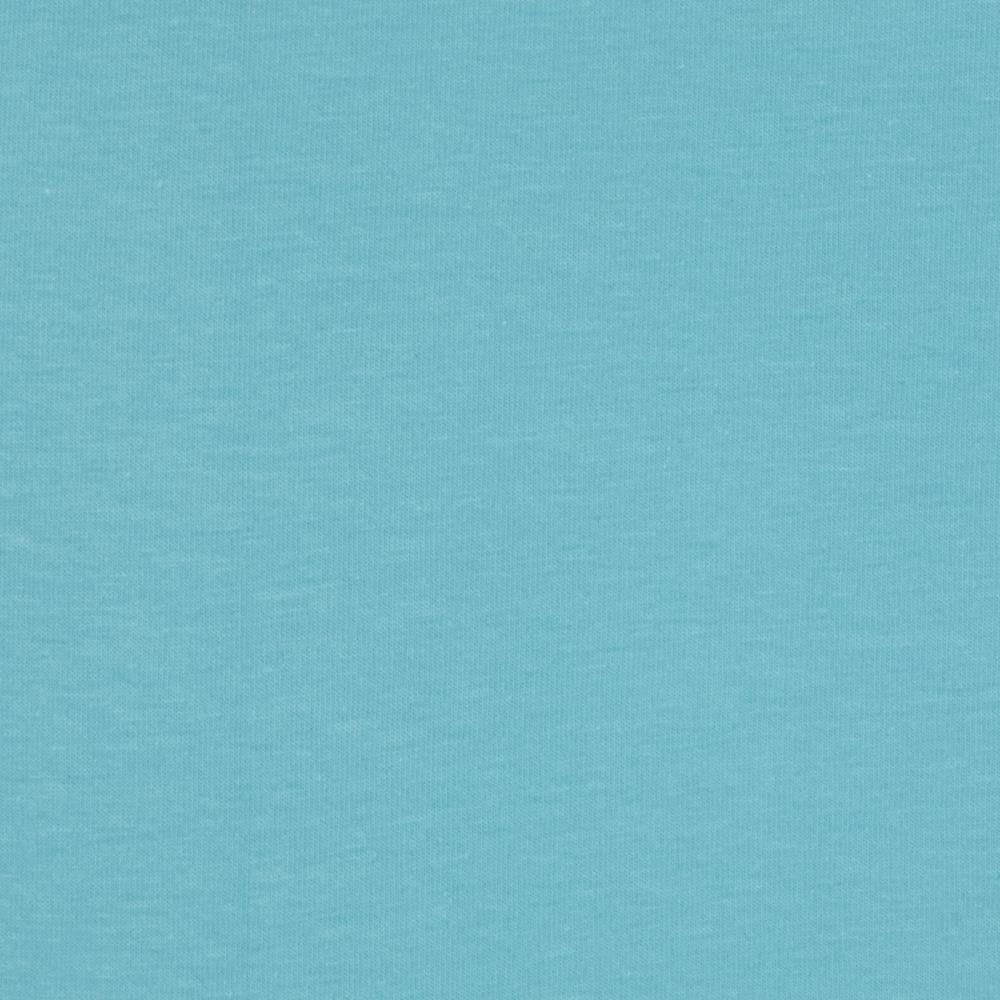 Riley Blake Cotton Jersey Knit Solid Aqua