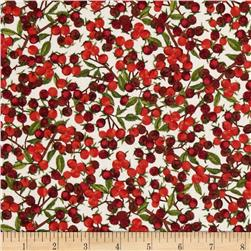 Angel Band Picture Winterberry Botanical Ceam/Red