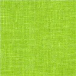 Quilter's Linen Print Lime Fabric