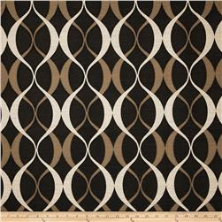 Richloom Indoor/Outdoor Duo Jacquard Black