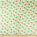 Tanya Whelan Sugar Hill Laminate Scattered Roses Ivory