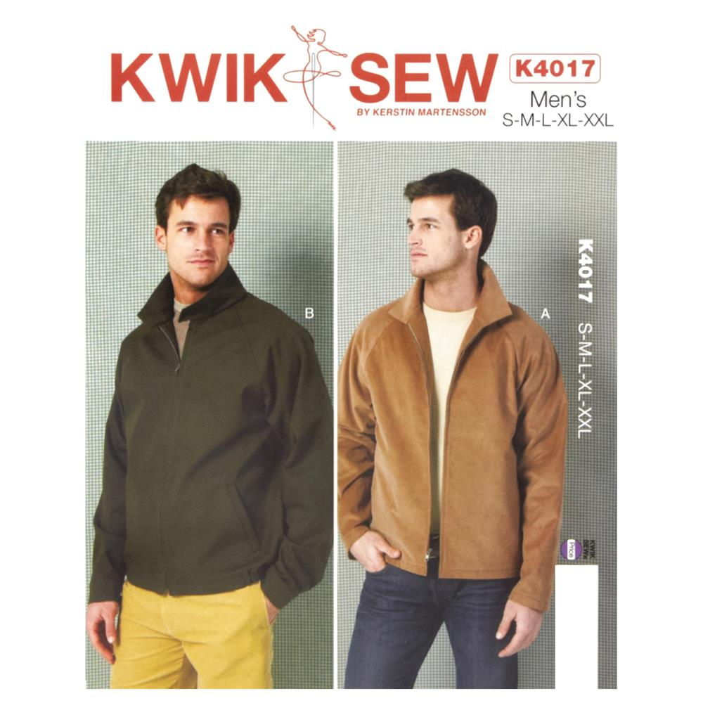 Kwik Sew Men's Jackets Pattern