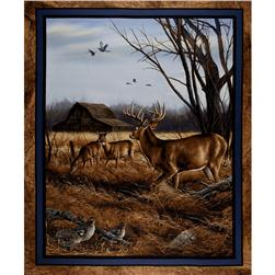 Wild Wings Eastern Edge Wall Hanging Panel Blue