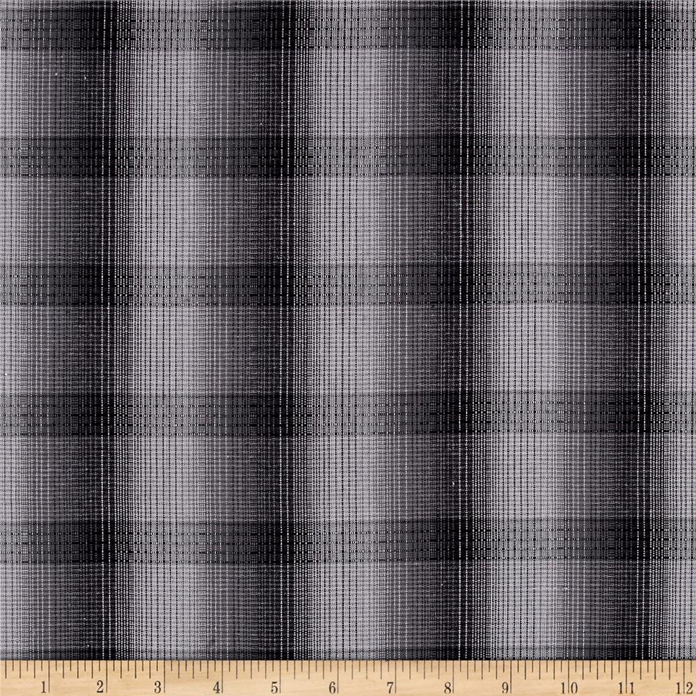 Grey plaid flannel for Flannel fabric