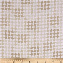Comfy Flannel Jumping Geometric Beige