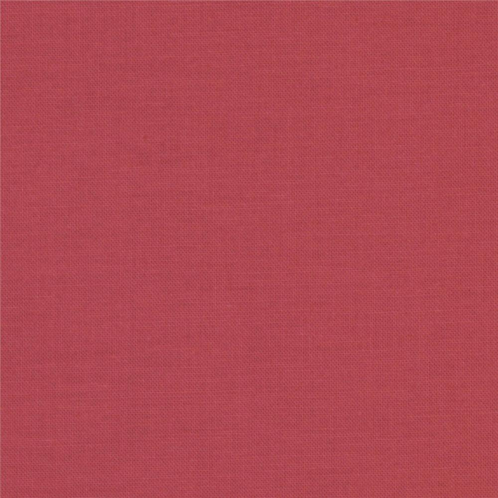 Kona Cotton Deep Rose