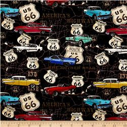 Jean Poult American Dream Cars On The Map Black
