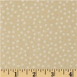 Buggy Barn 108' Wide Dot Quilt Backing Tan
