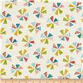 Moda Mixed Bag Pinwheels Cloud