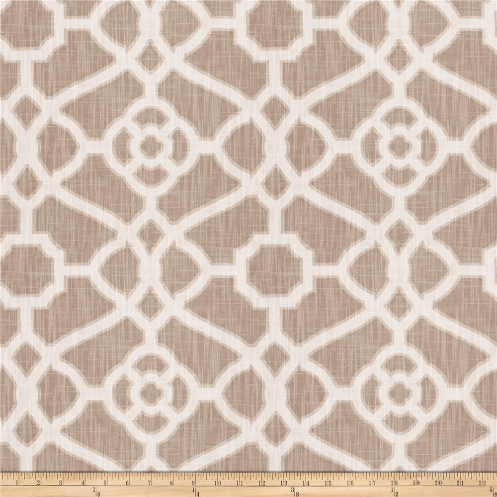 Fabricut Hakata Lattice Dove