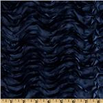 Mackenzie Satin Ribbon Scallop Navy