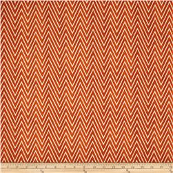 Draw Near Chevron Crayon Wrap Orange Rust